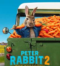 Беглый кролик в большом городе в первом трейлере анимационного приключения «Кролик Питер 2»