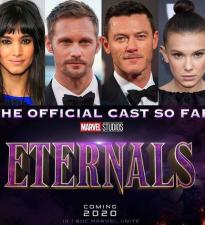 Концепт-постер «Вечные» представляет Могущественных Небожителей Marvel